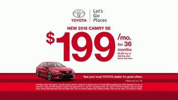 Toyota Ready Set Go! TV Spot, 'Goodbye Winter, Hello Spring' [T2] - Thumbnail 7