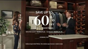 JoS. A. Bank Up to 60 Percent Off Sale TV Spot, 'Almost Everything' - Thumbnail 10