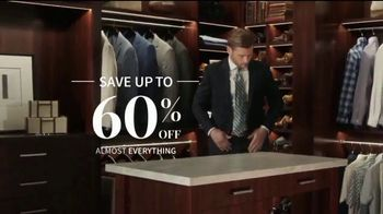 JoS. A. Bank Up to 60 Percent Off Sale TV Spot, 'Almost Everything' - Thumbnail 3