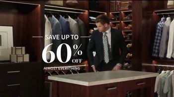 JoS. A. Bank Up to 60 Percent Off Sale TV Spot, 'Almost Everything' - Thumbnail 4