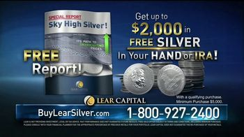 Lear Capital TV Spot, \'Best Performer: Free Silver Bar\'