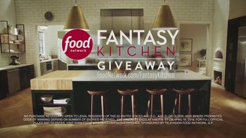 Food Network Fantasy Kitchen Giveaway TV Spot, 'Going Hands-Free' - Thumbnail 8