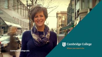 Cambridge College TV Spot, 'Shape Your Education' - Thumbnail 7