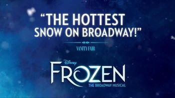 Frozen the Broadway Musical TV Spot, 'The Hottest Snow on Broadway' - Thumbnail 4