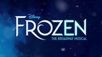 Frozen the Broadway Musical TV Spot, 'The Hottest Snow on Broadway' - Thumbnail 1