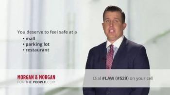 Morgan and Morgan Law Firm TV Spot, 'Customer Safety' - Thumbnail 4