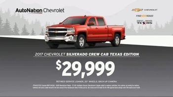 AutoNation Chevrolet Truck Month TV Spot, '2017 Silverado and Malibu' - Thumbnail 7