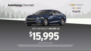 AutoNation Chevrolet Truck Month TV Spot, '2017 Silverado and Malibu' - Thumbnail 9