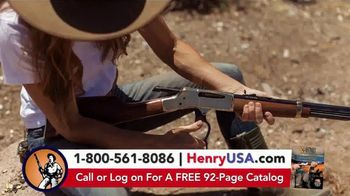 Henry Repeating Arms TV Spot, 'Reliable, Affordable' - Thumbnail 1