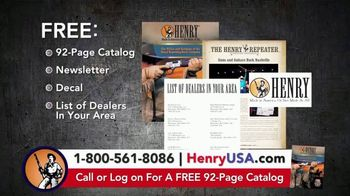 Henry Repeating Arms TV Spot, 'Reliable, Affordable' - Thumbnail 10