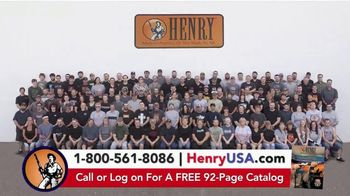Henry Repeating Arms TV Spot, 'Reliable, Affordable' - Thumbnail 2