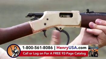 Henry Repeating Arms TV Spot, 'Reliable, Affordable' - Thumbnail 4