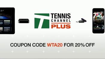 Tennis Channel Plus TV Spot, 'Action from the Miami Open' - Thumbnail 9