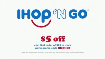 IHOP 'N GO TV Spot, 'Omelettes and Pancakes' - Thumbnail 4