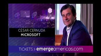 Emerge Americas Technology Event of the Americas TV Spot, '2018 Miami' - Thumbnail 10