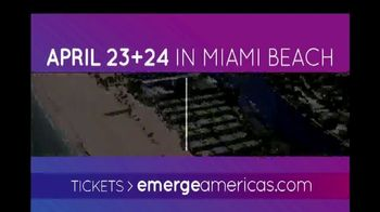 Emerge Americas Technology Event of the Americas TV Spot, '2018 Miami' - Thumbnail 2