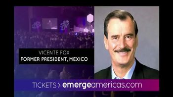 Emerge Americas Technology Event of the Americas TV Spot, '2018 Miami' - Thumbnail 7