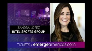 Emerge Americas Technology Event of the Americas TV Spot, '2018 Miami' - Thumbnail 8