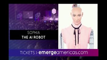Emerge Americas Technology Event of the Americas TV Spot, '2018 Miami' - Thumbnail 9