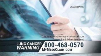 Allen & Nolte, PLLC TV Spot, 'Lung Cancer Warning' - Thumbnail 1