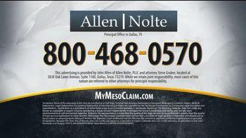 Allen & Nolte, PLLC TV Spot, 'Lung Cancer Warning' - Thumbnail 8