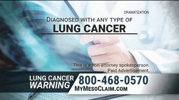 Allen & Nolte, PLLC TV Spot, 'Lung Cancer Warning' - Thumbnail 2