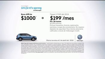Volkswagen Evento Smile It's Spring TV Spot, 'Sonrisas para todo' [Spanish] [T2] - Thumbnail 9