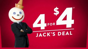 Jack in the Box 4 for $4 Jack's Deal TV Spot, 'Tacos' - Thumbnail 2