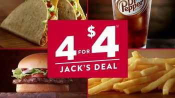 Jack in the Box 4 for $4 Jack's Deal TV Spot, 'Tacos' - Thumbnail 9