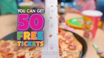 Chuck E. Cheese's TV Spot, 'Fun Break: 50 Free Tickets' - Thumbnail 7