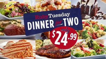 Ruby Tuesday Dinner for Two TV Spot, 'Bringing Everyone Twogether' - Thumbnail 2