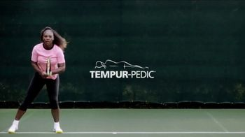 Tempur-Pedic TV Spot, 'Customer Satisfaction' Featuring Serena Williams - Thumbnail 1