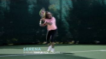 Tempur-Pedic TV Spot, 'Customer Satisfaction' Featuring Serena Williams - Thumbnail 2