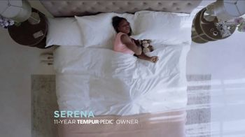 Tempur-Pedic TV Spot, 'Customer Satisfaction' Featuring Serena Williams - Thumbnail 3