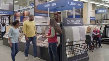 Lowe's Spring Black Friday TV Spot, 'The Moment: Old Carpet: Deluxe' - Thumbnail 5