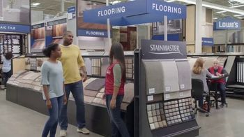 Lowe's Spring Black Friday TV Spot, 'The Moment: Old Carpet: Deluxe' - Thumbnail 6