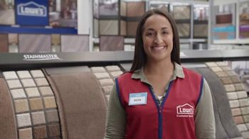 Lowe's Spring Black Friday TV Spot, 'The Moment: Old Carpet: Deluxe' - Thumbnail 7