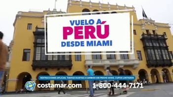 Costamar Travel TV Spot, 'Ofertas espectaculares: Perú y más' [Spanish] - Thumbnail 4