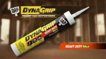 DAP DynaGrip Heavy Duty Max TV Spot, 'Tackle the Toughest Jobs' - Thumbnail 2