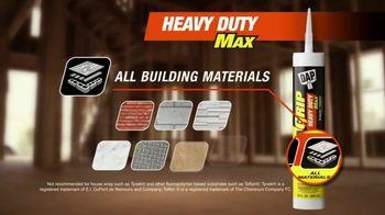 DAP DynaGrip Heavy Duty Max TV Spot, 'Tackle the Toughest Jobs'