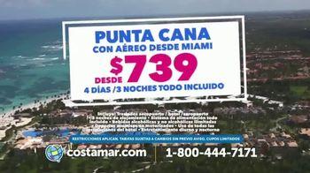 Costamar Travel TV Spot, 'Ofertas espectaculares: llama ya' [Spanish] - Thumbnail 4