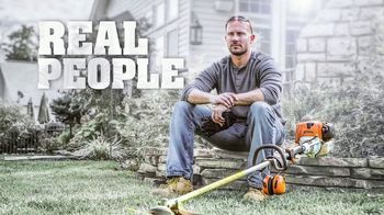 STIHL TV Spot, 'Real People: Trimmers' - Thumbnail 1