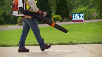 STIHL TV Spot, 'Pick Your Power: Fuel or Battery Blowers' - Thumbnail 6