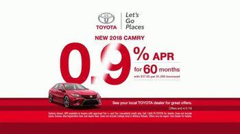 Toyota Ready Set Go! TV Spot, 'Flowers: 2018 Camry' [T2] - Thumbnail 4