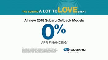 Subaru A Lot to Love Event TV Spot, 'See the World' [T1] - Thumbnail 10