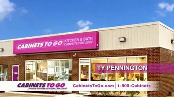 Cabinets To Go 3 Day Only Sale TV Spot, 'Great Discovery' Ft. Ty Pennington - Thumbnail 1
