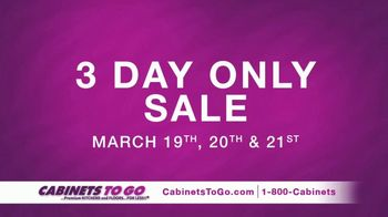 Cabinets To Go 3 Day Only Sale TV Spot, 'Great Discovery' Ft. Ty Pennington - Thumbnail 3