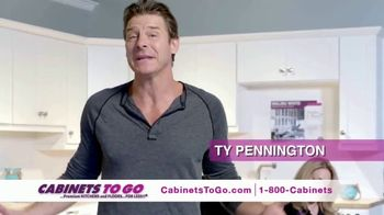 Cabinets To Go 3 Day Only Sale TV Spot, 'Great Discovery' Ft. Ty Pennington - 8 commercial airings