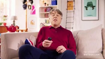 BritBox TV Spot, 'British TV' Featuring Alan Davies - Thumbnail 2