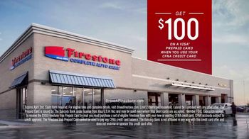 Firestone Complete Auto Care TV Spot, 'Running Right: Prepaid Card'